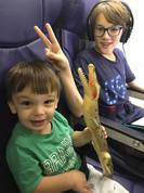 KIDS ON SOUTHWEST FLIGHT